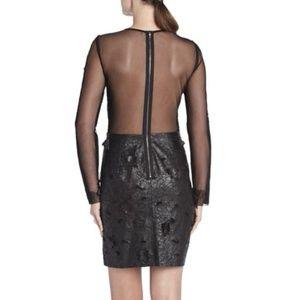 NWT BCBGMAXAZRIA Black Jillea Dress